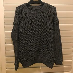 TOPSHOP Pullover Gray Sweater